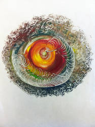 Receding into Color by koribowers