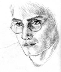 Harry Potter WIP by SarawenArt