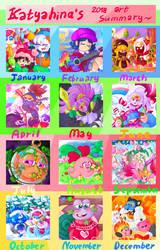 Art summary of 2018! by R1nRina