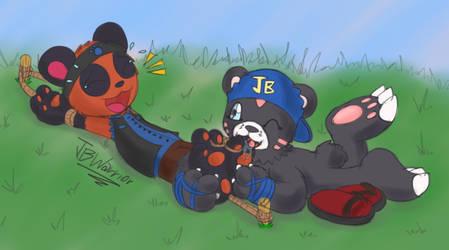Poor Sandal Panda by JBtheShadow