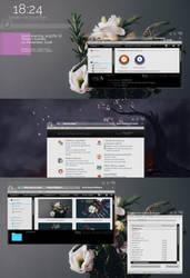 Actual Desktop by acg3fly