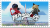 Miraculous Tales of Ladybug and Cat Noir-Stamp~ by Geeky-Bunny