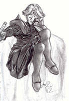 Another old Dilandau sketch by Seferia