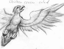 Chicken Ceasar Salad by Seferia