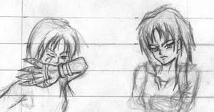 More Character studies by Seferia