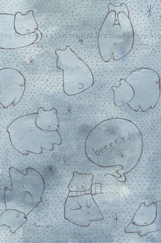 polar bears , by hearte