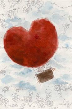 the heart air balloon , by hearte
