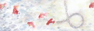 fish + sky by hearte
