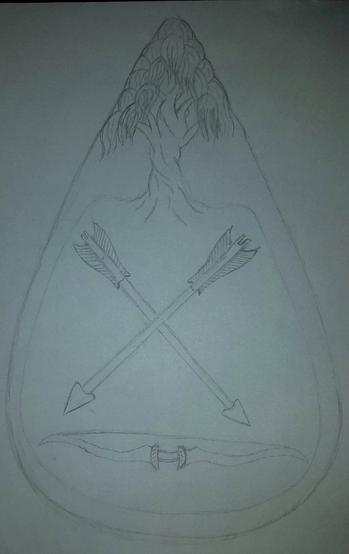 Theela family Crest unfinished by FireNekoGin