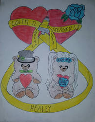 Healey Wedding Bears (Official) by FireNekoGin