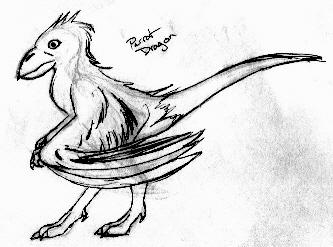 Parrot Drake Design 1 by TexasTitan
