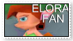 Elora stamp by Thornacious