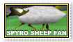 Spyro Sheep Fan stamp by Thornacious