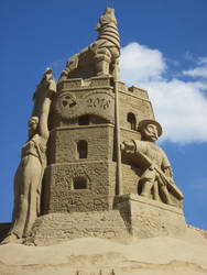 Sandcastle by Bemari