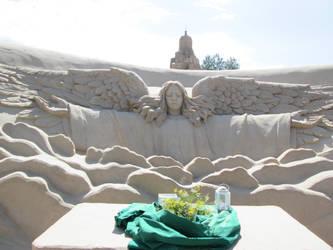 Sand Chapel by Bemari