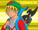 Rai and Dengekimon by kingandy