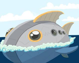Mechanical fish by kingandy
