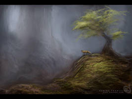 landscape by Noukah