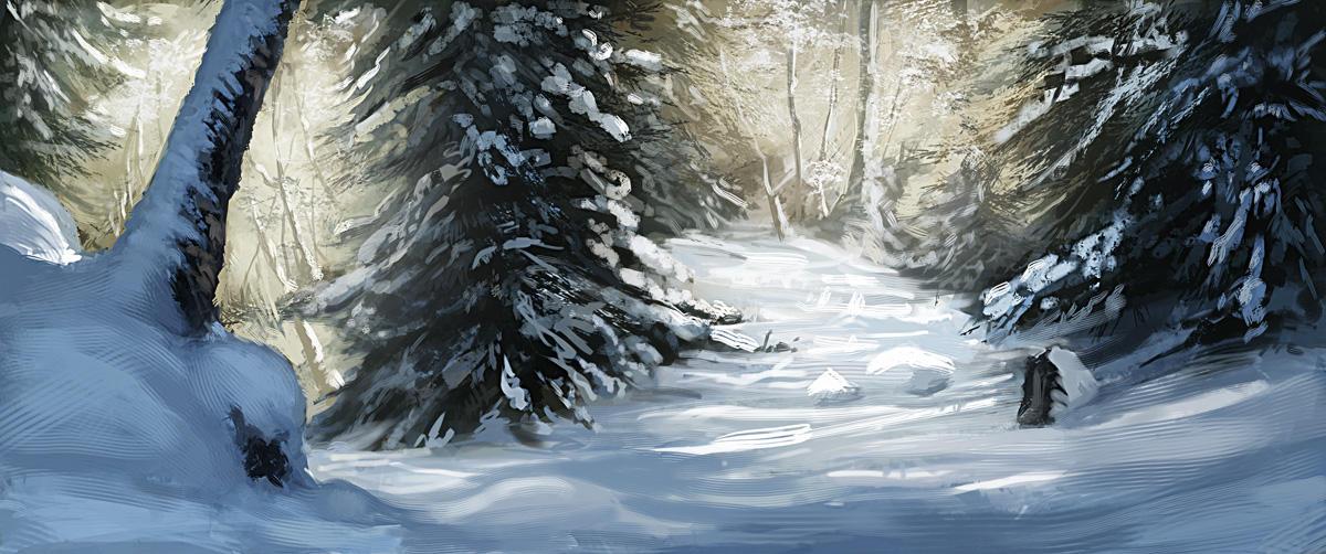 Landscape strudies 091227 by Noukah
