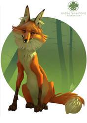 Golden Fox by Noukah