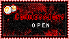 Point Commissions Open stamp by D3lDARA-Resources
