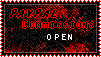 Paypal Commissions Open stamp by D3lDARA-Resources