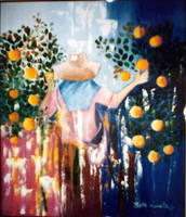 Harvest of orange by betebrito