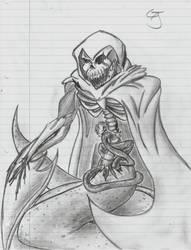Funny skeleton by DestinySpider