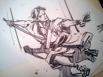 Samurai Attack by dreamflux1