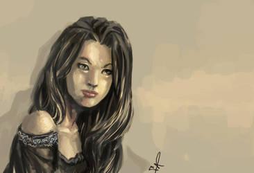 Digital Paint Study by dreamflux1