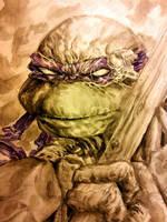 Donatello - Watercolored by dreamflux1