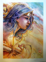 Wonder Woman - Dawn of Justice by dreamflux1