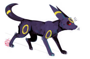 Umbreon by Urswurs