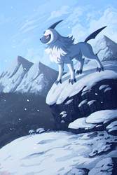 Absol by Urswurs