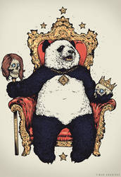 King Panda by TimurKhabirov