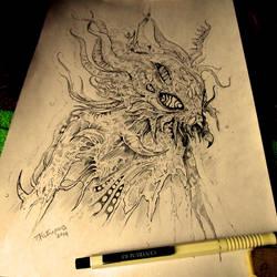 Space Invader (sketch) by TimurKhabirov