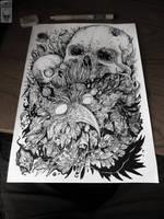 Katalepsy skulls by TimurKhabirov