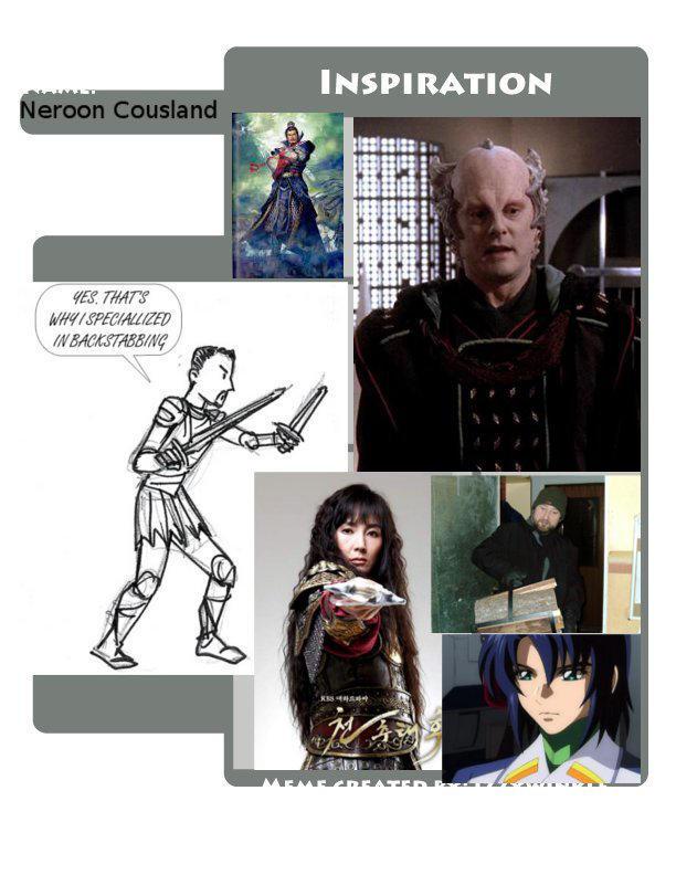 Neroon Inspiration Meme by NeroonCousland
