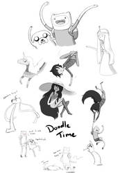 Adventure Time! Sketchdump by Senturith