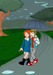 Casal-chuva by Arquiles