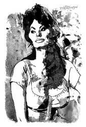 Sophia Loren by wooden-horse