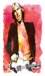Tom Petty by wooden-horse