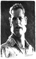 Paul Newman by wooden-horse