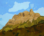 Castle Mountain No. 1 by wooden-horse