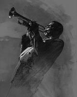 Dizzy Gillespie by wooden-horse