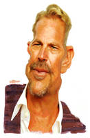 Kevin Costner by wooden-horse