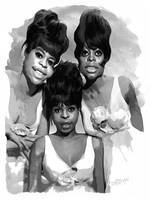 The Supremes by wooden-horse