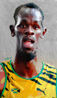 Usain Bolt by wooden-horse