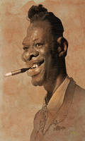Nat King Cole by wooden-horse