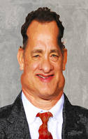 Tom Hanks by wooden-horse